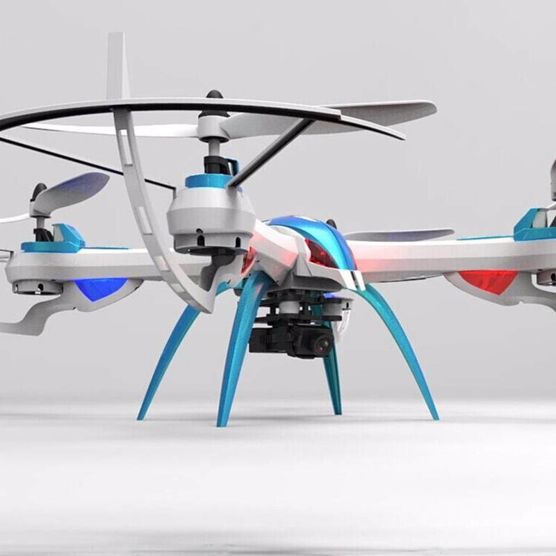 4CH Camera Helikopter States