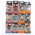 Funko pop keychain figura deadpool marvel super hero captain america the walking dead game of thrones hulk spiderman