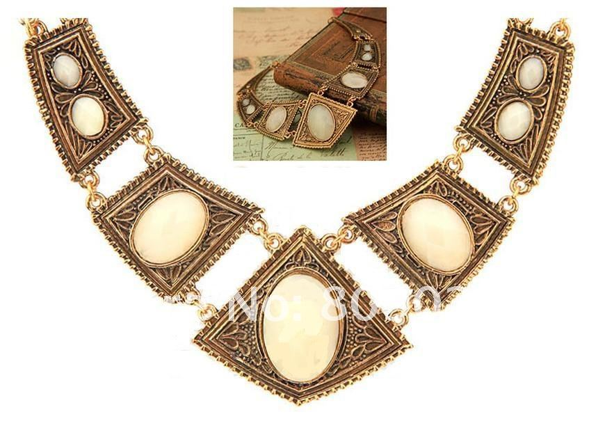 5pcs Fashion Jewelry Necklet Necklace Alloy Necklace Resin