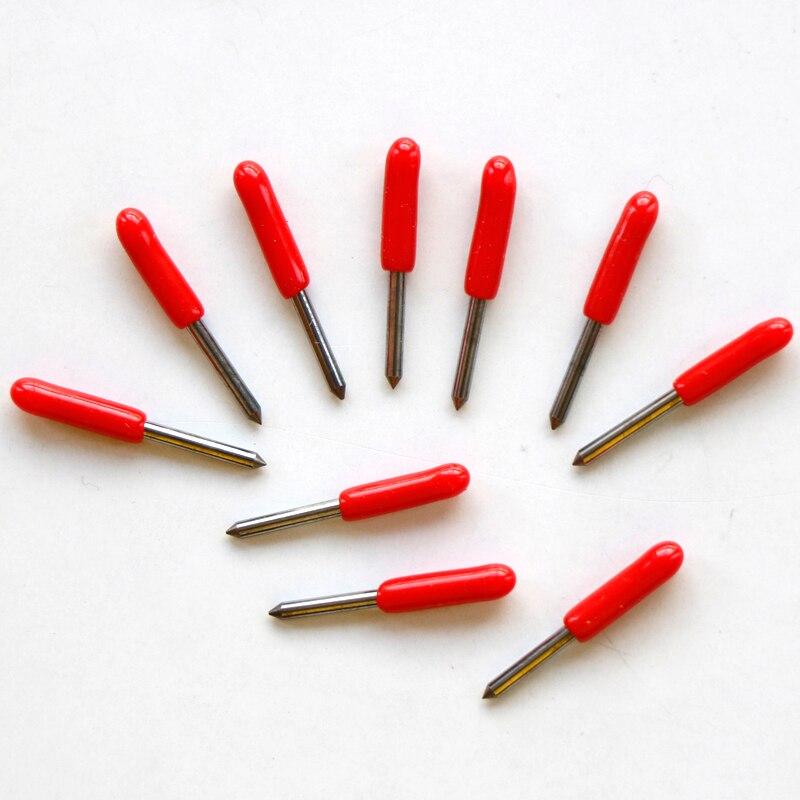 In Stock Fast Shipping 10pcs 45 degree summa D blade cutting plotter vinyl cutter blade summa needle knife tool cutter  цены