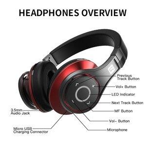 Image 4 - Bluedio U (UFO) Bluetooth наушники, стерео наушники, наушники с встроенным микрофоном, 3Д музыкальный звук, 8 драйверов, Hi Fi профессиональныенаушники для болельшиков.