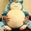 """Dia dos namorados 1 pcs 20 polegadas """"50 cm Brinquedo de Pelúcia Snorlax Plush Anime New Rare Macio Stuffed Animal boneca Para Kid Gif Dia Dos Namorados"""