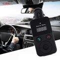 Manos libres Bluetooth Kit de Coche Transmisor FM Tarjeta SD USB Reproductor de MP3 con Control Remoto