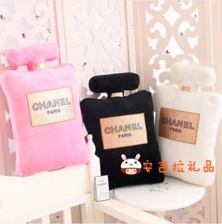 0dfc7e3c9697 Perfume bottle shape pillow cushion for leaning on of plush toys gift  birthday present creative home decorative pillow
