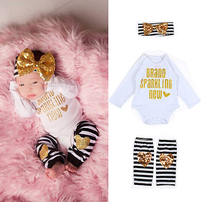 Summer Newborn Kids Baby Boy Girl Infant Romper Jumpsuit Bodysuit Clothes Outfit Set Hot Sale
