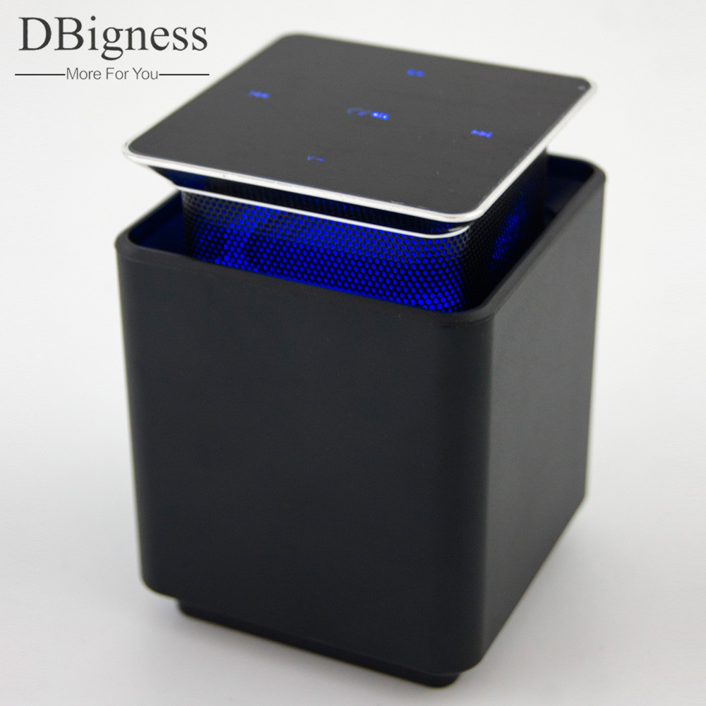 Bluetooth Speaker Up And Down Switch Touch Control Wireless Stereo Levitation Subwoofer Speaker Handfree Caixa De Som