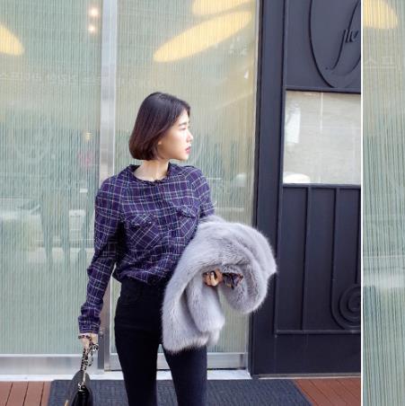 Fourrure Faux Z283 Outwear D'hiver Veste De Moelleux Femme Fausse Hiver Taille Artificielle 2019 Femmes Manteau La Plus nYat4wq4