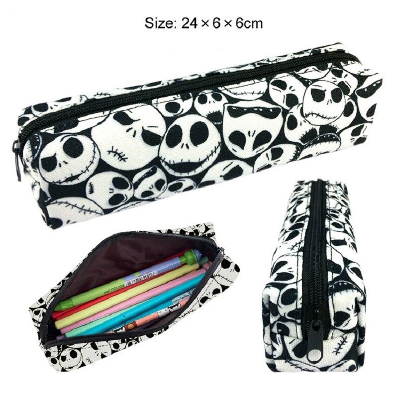 Pencil Case SUV Car Shape Canvas Pen Bag Double Zipper Boys Xmas Gift-Students