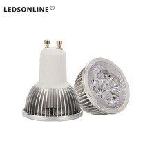4pc Spot LED light 4W MR16 DC 12V led Bulb lamp Warm White Spotlight