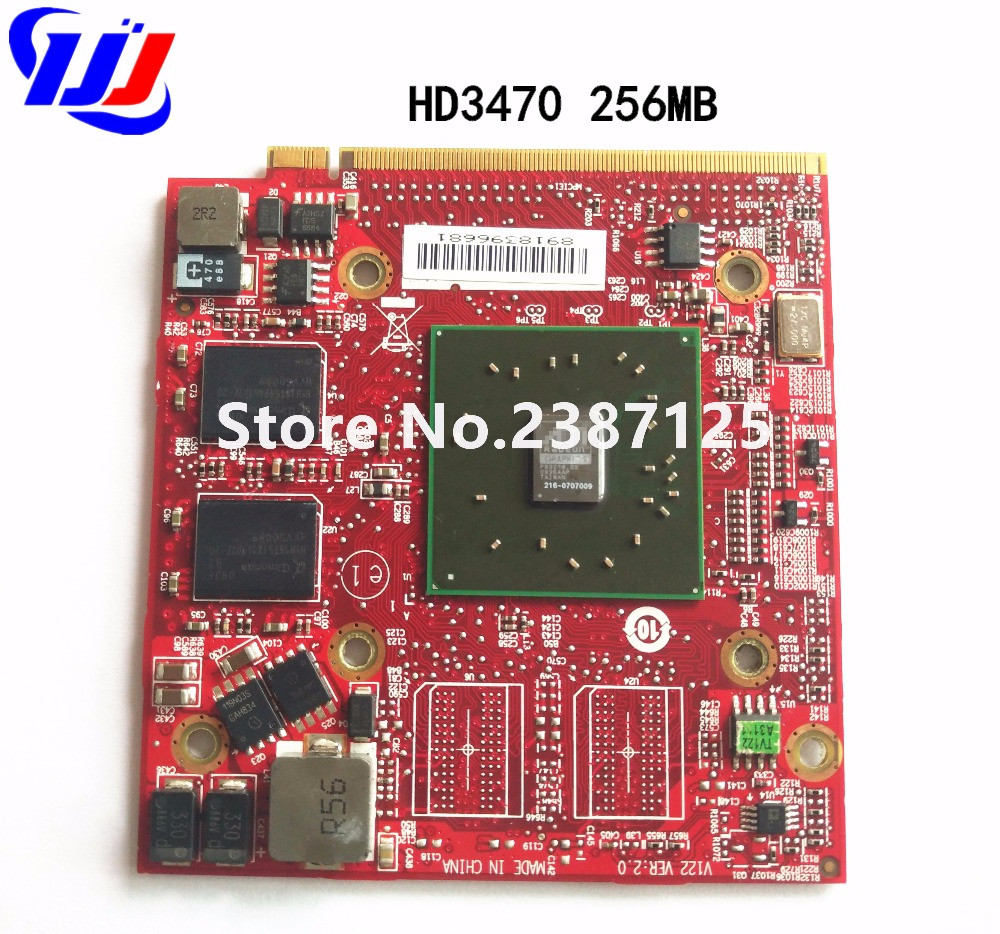 For ATI Mobility Radeo HD3470 HD 3470 256MB Video Graphics Card for A cer As p i r e 4920G 5530G 5720G 5920G 6530G <font><b>5630G</b></font> Laptop image