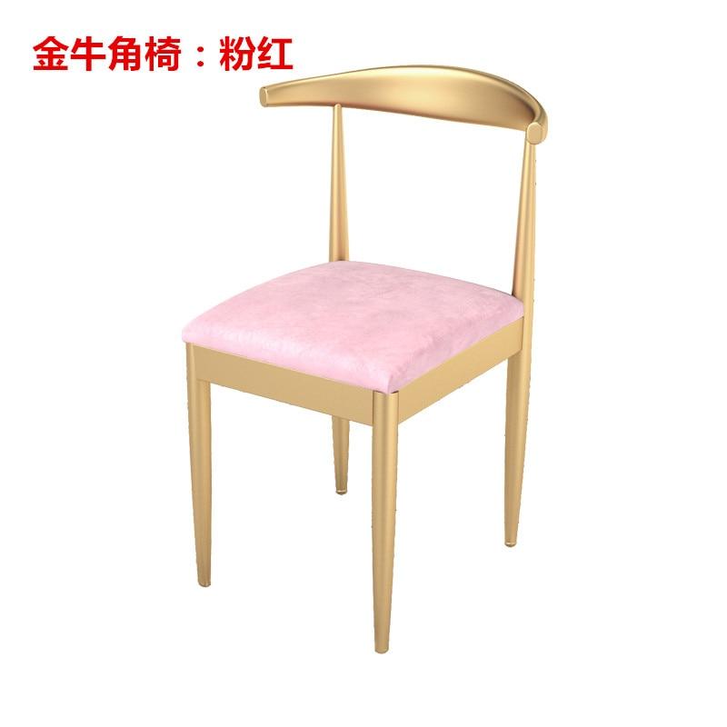 Луи мода маникюрные столики, стул se, маникюр, железный мрамор, двойной - Цвет: S2