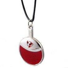 NARUTO Choker Necklace Uchiha Sasuke Logo Pendant Unisex Gift Anime Jewelry