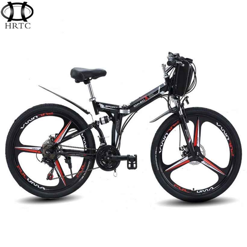 Export electric mountain bike inch v spokes wheel strong lithium battery new