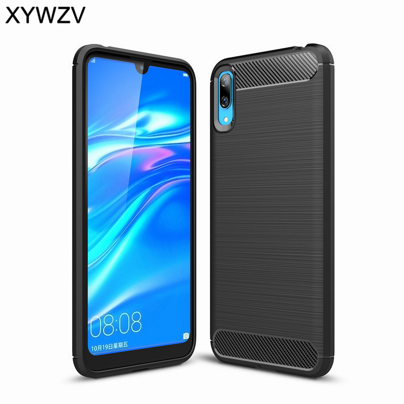 For Cover Huawei Enjoy 9 Case Shockproof Armor Rubber Silicone Phone Back Shell