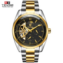 TEVISE Men Watches Top Brand Mechanical