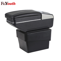 Car Armrest Box Central Store Content Box With Cup Holder Interior Products Interior Accessories For Skoda Octavia A7 2015 2018