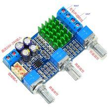 TPA3116 2.1 50W+50W Digital Power Amplifier Tone Adjust Board DC12V-24