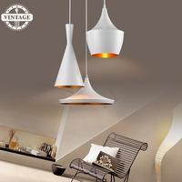 VintageIII Design By Tom Dixon Copper Shade Chandelier Lights Pendant Lamp Beat Light ABC Tall Fat