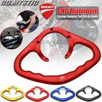 For DUCATI MONSTER 796 797 821 1100/S/R Handlebar Motorcycle Passenger Handgrips Hand Grip Tank Grab Bar Handle Armrest