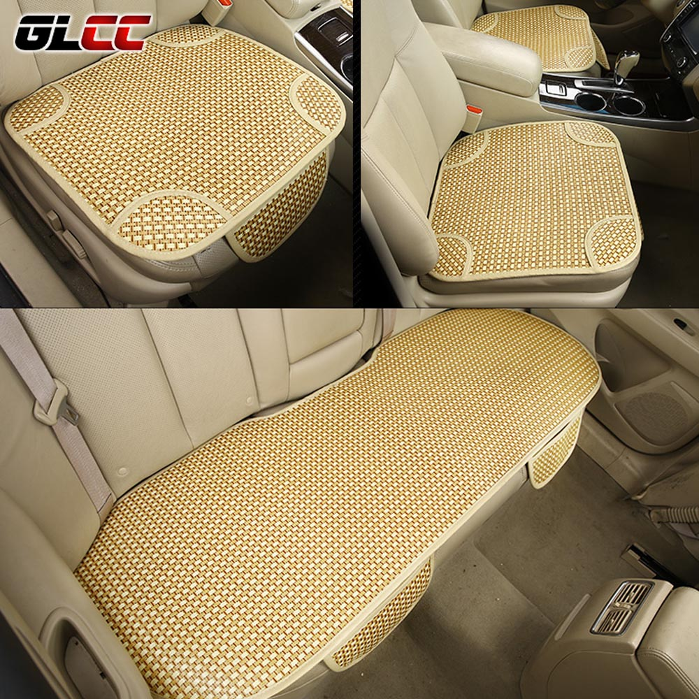2017 new arrival summer car seat cover 3 pcs universal ice silk car seat cushion auto seat. Black Bedroom Furniture Sets. Home Design Ideas