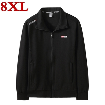 Plus Size 8XL 7XL 6XL 5XL New high quality Jacket Men Fashion Casual Loose Mens Jacket Sportswear Jacket Mens Jackets