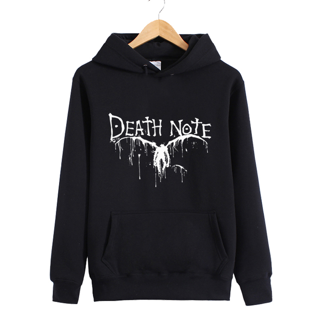 XHTWCY]Men's women's winter with a hood Death Note L sweatshirt ...