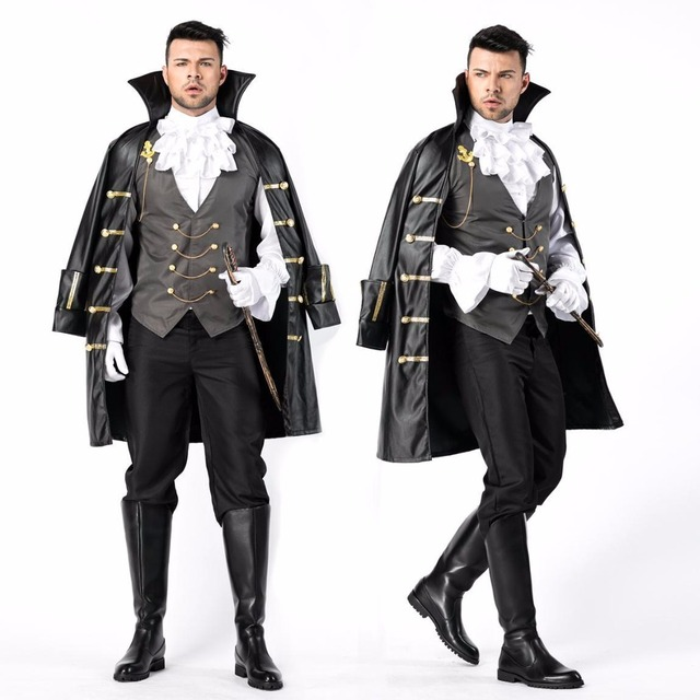 7e9cb6837f8 New Medieval Court Earl Halloween Cosplay Costumes For Men Party Fancy  Dress Masquerade Costume Suitable For 170-190 CM