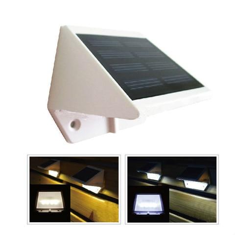 a energia solar 4 luzes led pathway