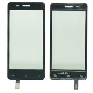 "Image 1 - 4.5 ""터치 스크린 디지타이저 FLY IQ4403 IQ 4403 휴대 전화 터치 스크린 전면 유리 센서 패널 교체 스티커"