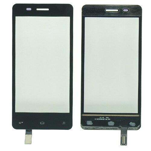 """4.5 """"터치 스크린 디지타이저 FLY IQ4403 IQ 4403 휴대 전화 터치 스크린 전면 유리 센서 패널 교체 스티커"""