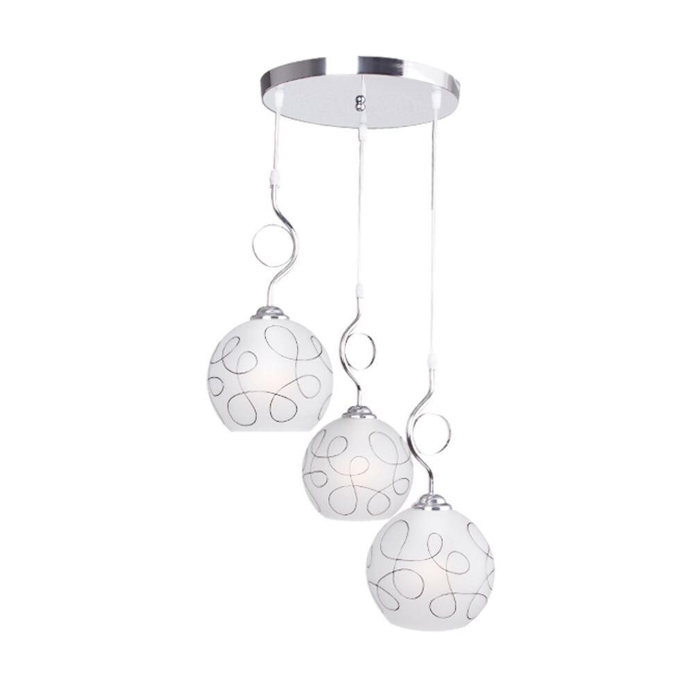 Simple Glass Dining Room Pendant Lamps Fashion Restaurant Bar Cafe Pendant Light Bedroom Study Room Pendant Lamp