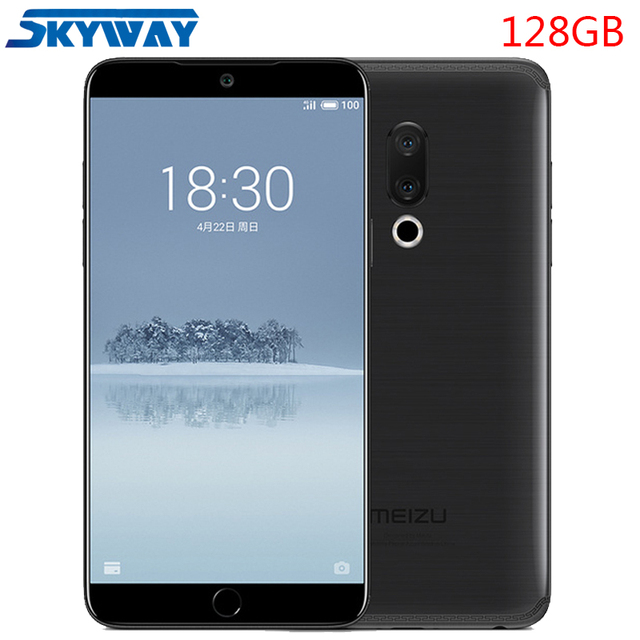 "Original Meizu 15 4G LTE 4GB 128GB Snapdragon 660 Octa Core 5.46"" 1920x1080P Screen Fingerprint ID Fast charger Cell Phone"
