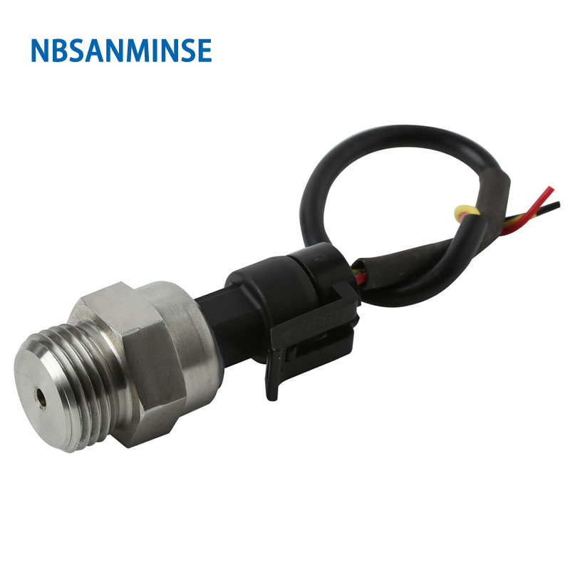 Nbsanminse Sm2011 G1/2 Pressure Transmitter Line Length Can Be Customized, Mainly Used For Air Compressor, Automobile