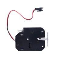 DC 12V picaretas de bloqueio elétrico trava fechadura eletromagnética para armário eletrônico inteligente bloqueio com segurança de detecção de status|lock pick|lock pick lock|lock electric lock -
