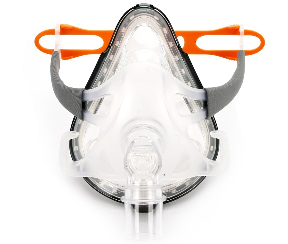 Full Face mask fro CPAP APAP BPAP respirator (5)
