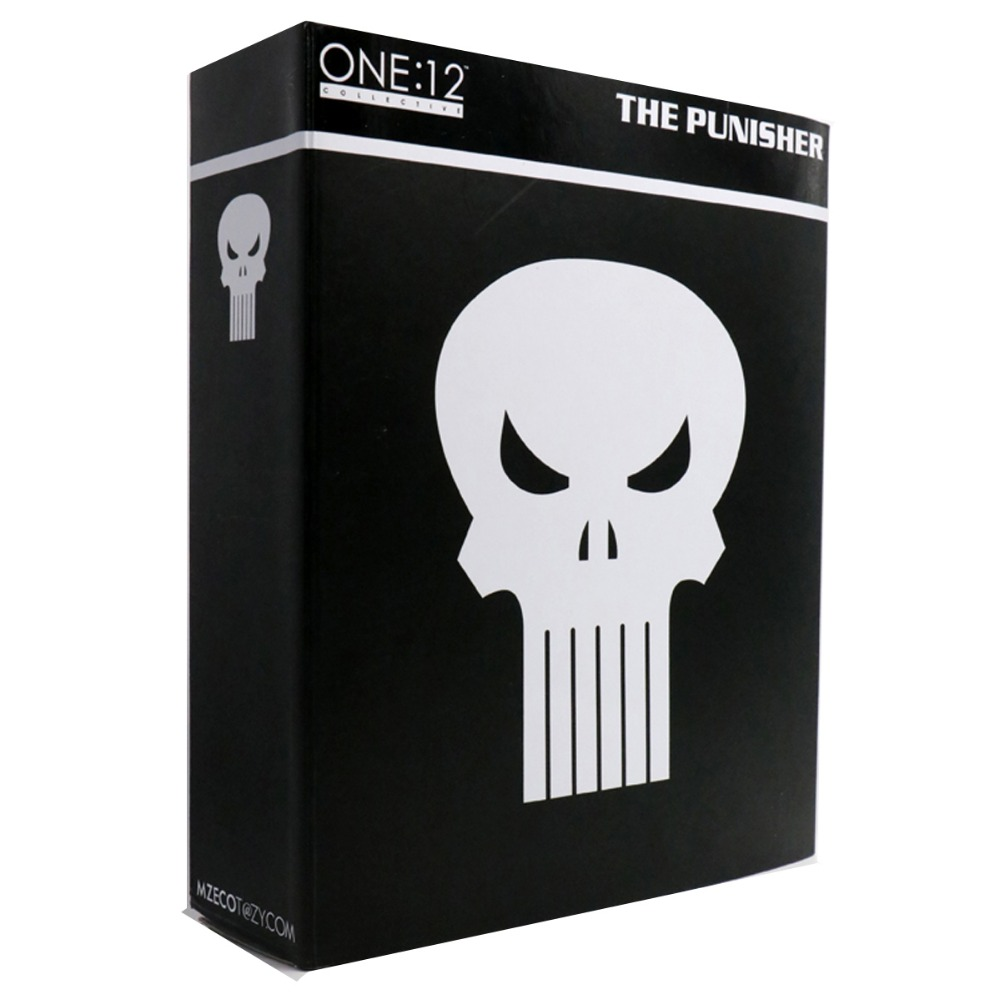 Mezco The Punisher Figure One:12 Collective 6 Action Figure Free Shipping hardin collective action