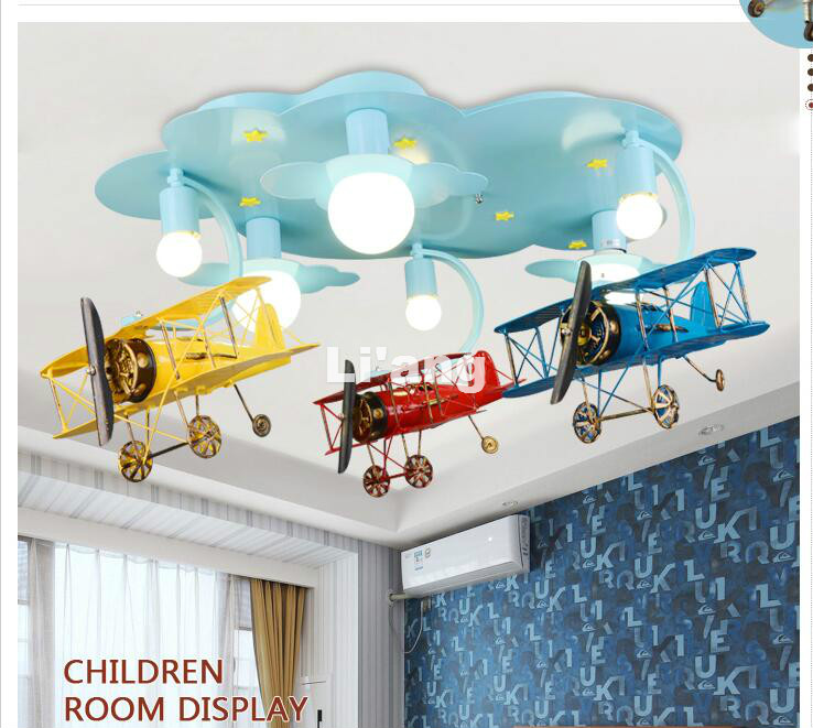 Nuovo Arrivo Luci A LED Per Bambini Bambini Lampada Da Soffitto Piano di Disegno Decora Luce Camera Da Letto E27 110 V 220 V Remote Controller incluso