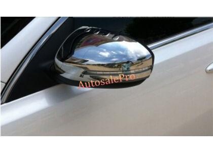 Chrome Side Mirrors Mirror Rearview Cover Trim For Kia Optima K5 2011-2013