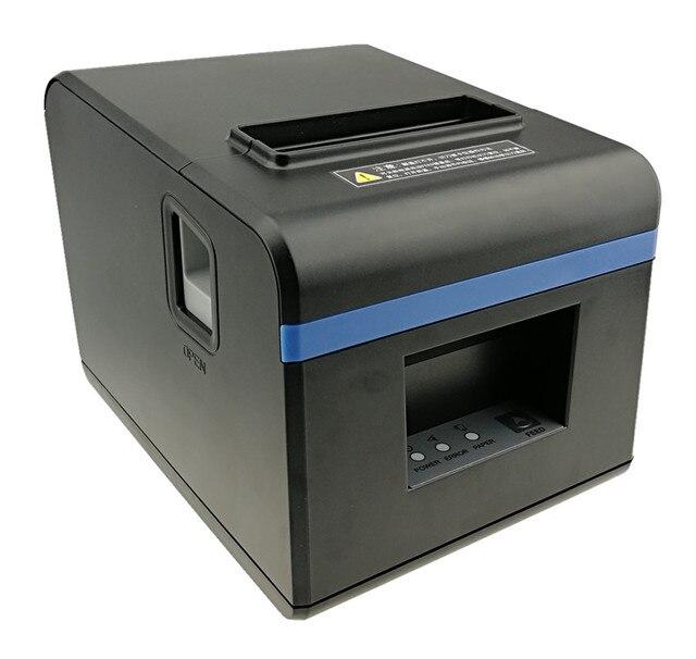 באיכות גבוהה 80mm תרמית קבלה ביל מדפסות מטבח מסעדת קופה מדפסת עם אוטומטי חותך פונקצית מראה מסוגנן