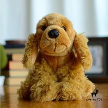 Children'S Toy Gifts Plush Animals  Dane Doll  Simulation  Spaniel Cute Dog  Stuffed Toys