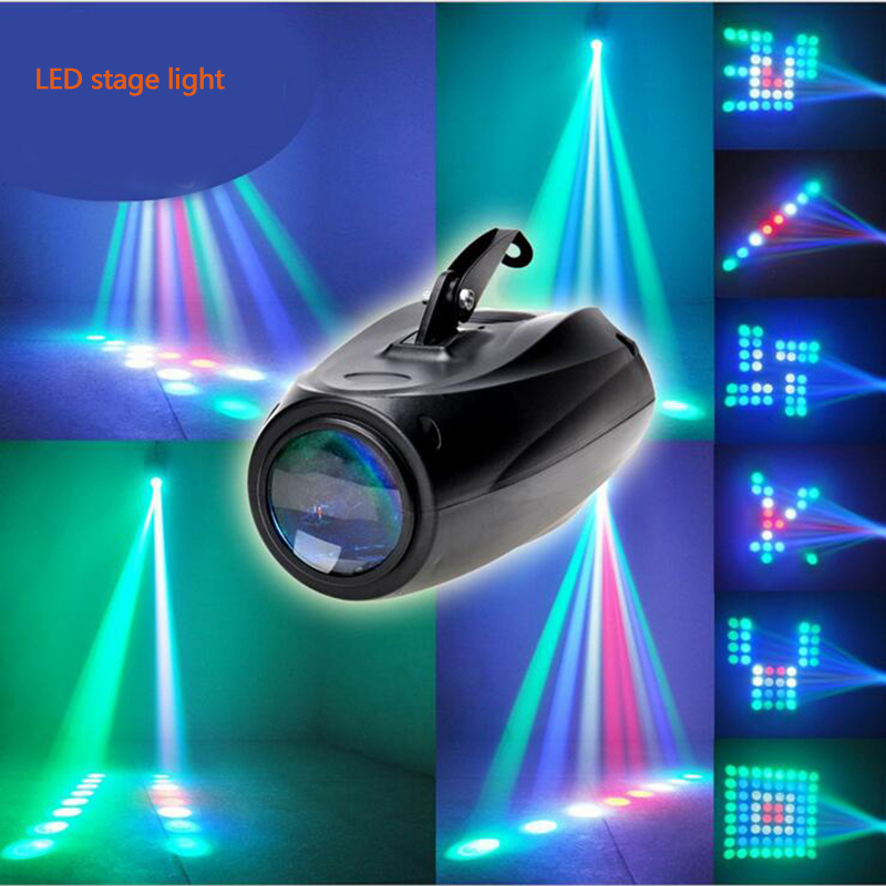 RGB Led Stage effect Light Voice Sound Control Par Light DJ Equipments Laser Projector ktv bar Party Disco stage lights крестор 10 мг n98 табл
