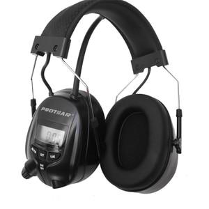 Image 2 - واقي للأذنين يعمل بنظام راديو AM FM واقي للأذنين من بروتار NRR 25dB للحماية الإلكترونية من السمع