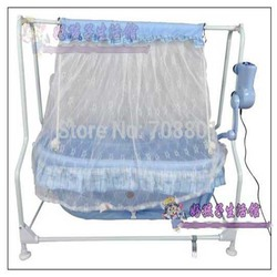 Baby electric steel frame cradle baby music bed baby swing bed shocker cradle baby cradle with.jpg 250x250