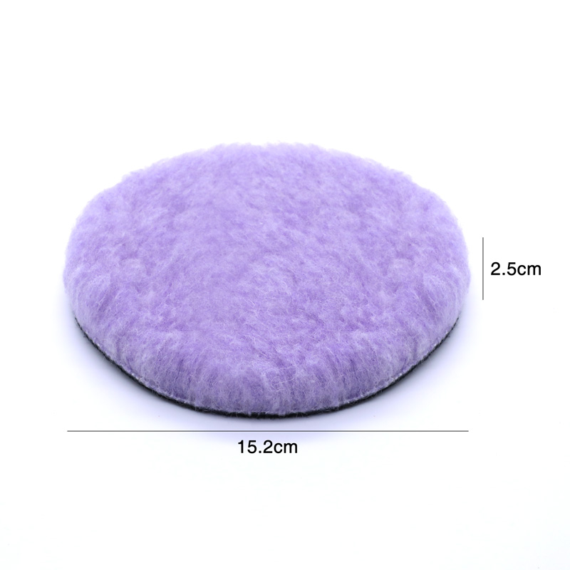 Image 3 - 6 Inch Buffer Pads Car Automotive Buffer Pads Car Accessories Wash Wool Polishing Auto Cars Detailing Waxing Tool Cars Polishing-in Sponges, Cloths & Brushes from Automobiles & Motorcycles