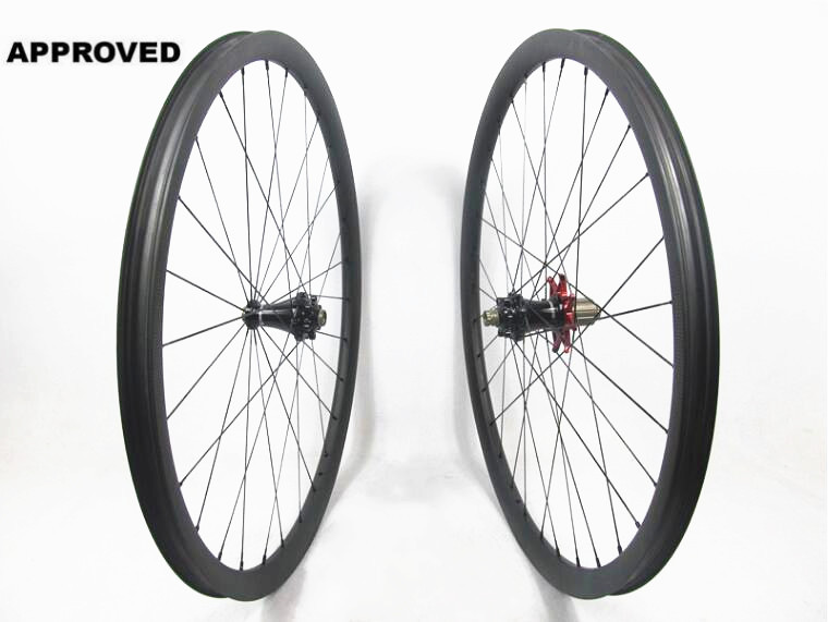 Farsports FS29T-30-30 Extralite hub 30mm 30mm High end Thru Axle carbon tubeless and hookless 29er MTB bike wheels 30 3000r