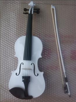 Soyoto-ev108 bakelized skrzypce typu box skrzypce elektryczne podwójny skrzypce skrzypce biały tanie i dobre opinie Brazylia drewna other 4 4 3 4 1 2
