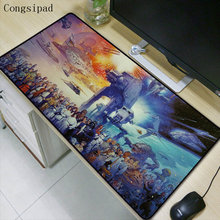 Congsipad 900*400*2mm Star War Gaming Mouse Pad Locking Edge Large Mouse Mat PC Computer Laptop Mouse Pad for CS GO Dota 2 LOL