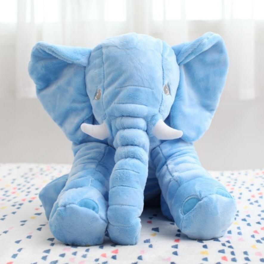 baby Appease Sleep pillow Plush Stuffed Toys cute animals Elephant candy colors soft toys for Kids birthday Gifts newborn baby cute animal elephant bell plush baby rattle bed hanging kids stroller mobiles toys for gifts