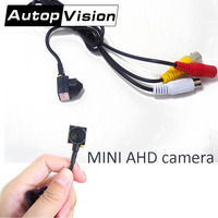 AHD310 AHD MINI CAMERA AHD 2MP 1080P Home Security Super Mini CCTV System camera Smallest Surveillance lens 70degree