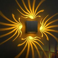 Led proste nowoczesny oszczędny lampa ścienna do sypialni dzienny pokój/korytarz ściany światło werandy efekt światła bar ktv lampa ścienna